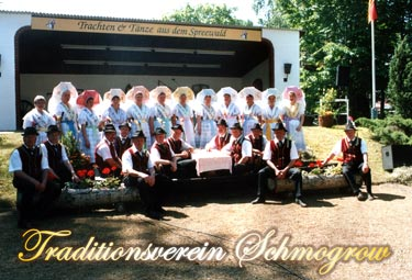 Gruppenfoto Traditionsverein Schmogrow